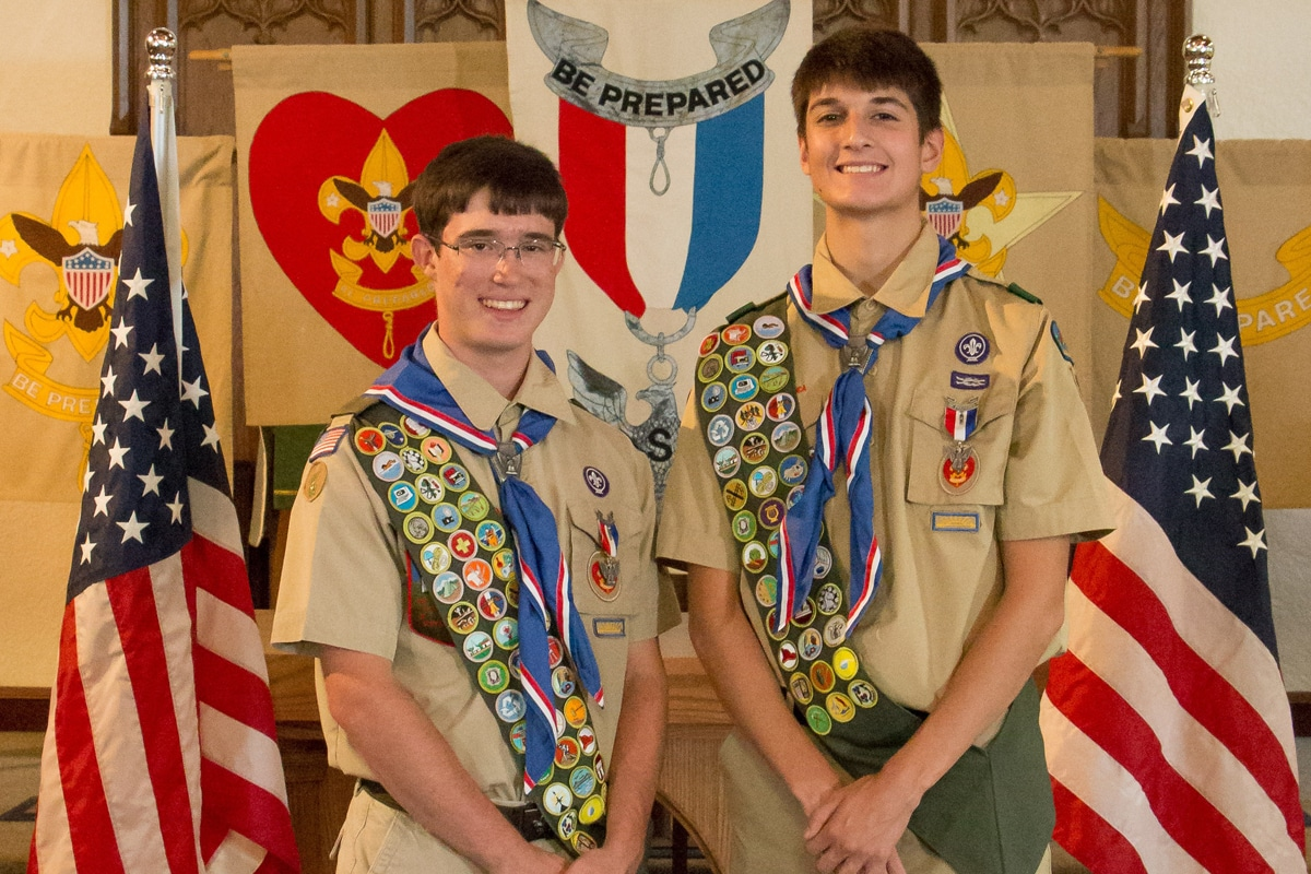 Two Local Boys Earn Eagle Scout Rank