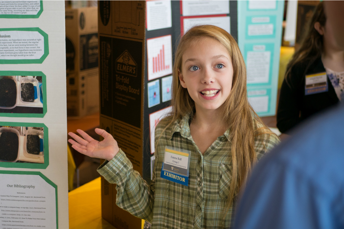 ArcelorMittal Sponsored NWI Science and Engineering Fair at Valparaiso University Showcases Bright Young Minds