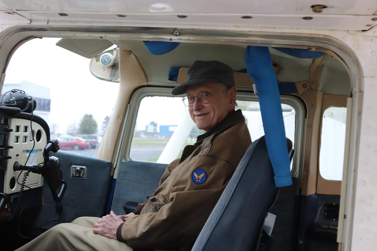 Journey Senior Living Provides a Memorable Flight Experience for Veteran Members