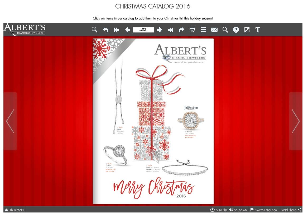 Albert's Diamond Jewelers Rocking the Holiday Shopping Season