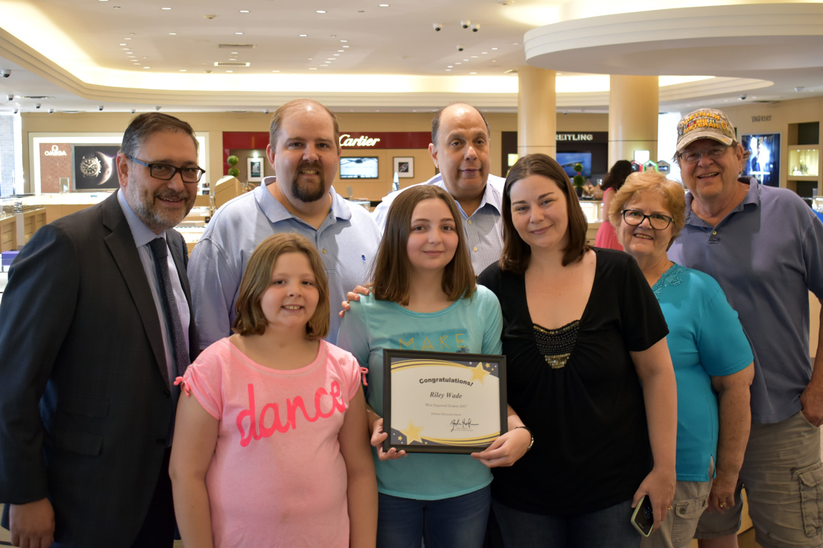 Albert's Diamond Jewelers Gives Back in a Big Way with Region's Most Improved Students Awards, Blood Drive