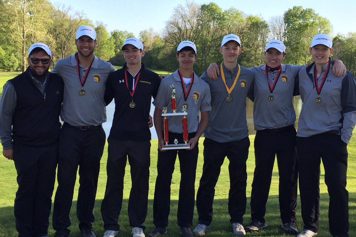 Chesterton's Mitchell Davis Named Boys Golf DAC MVP, All-Conference Teams Named