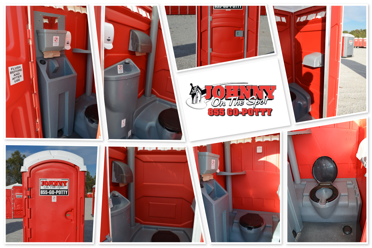 Johnny On The Spot: Deluxe & Flushable Restrooms!