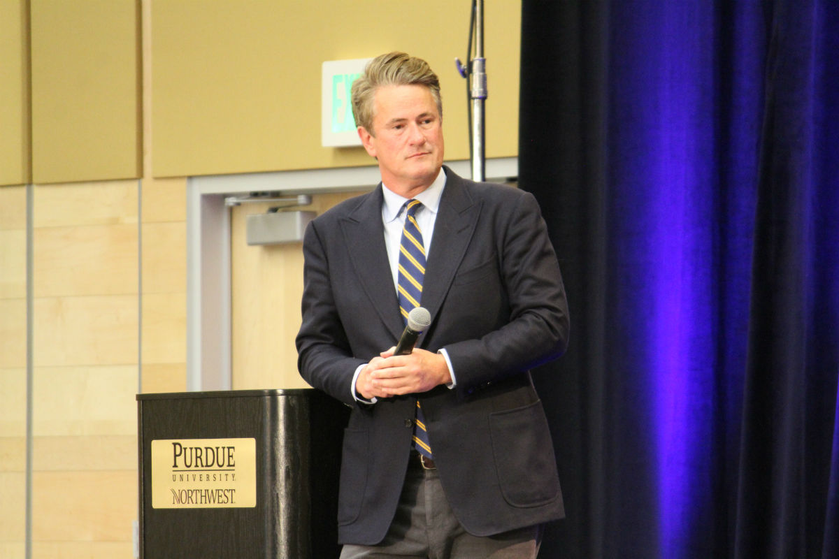 PNW Sinai Forum Brings MSNBC's Joe Scarborough to Discuss Topic of Political Unity, State of Media