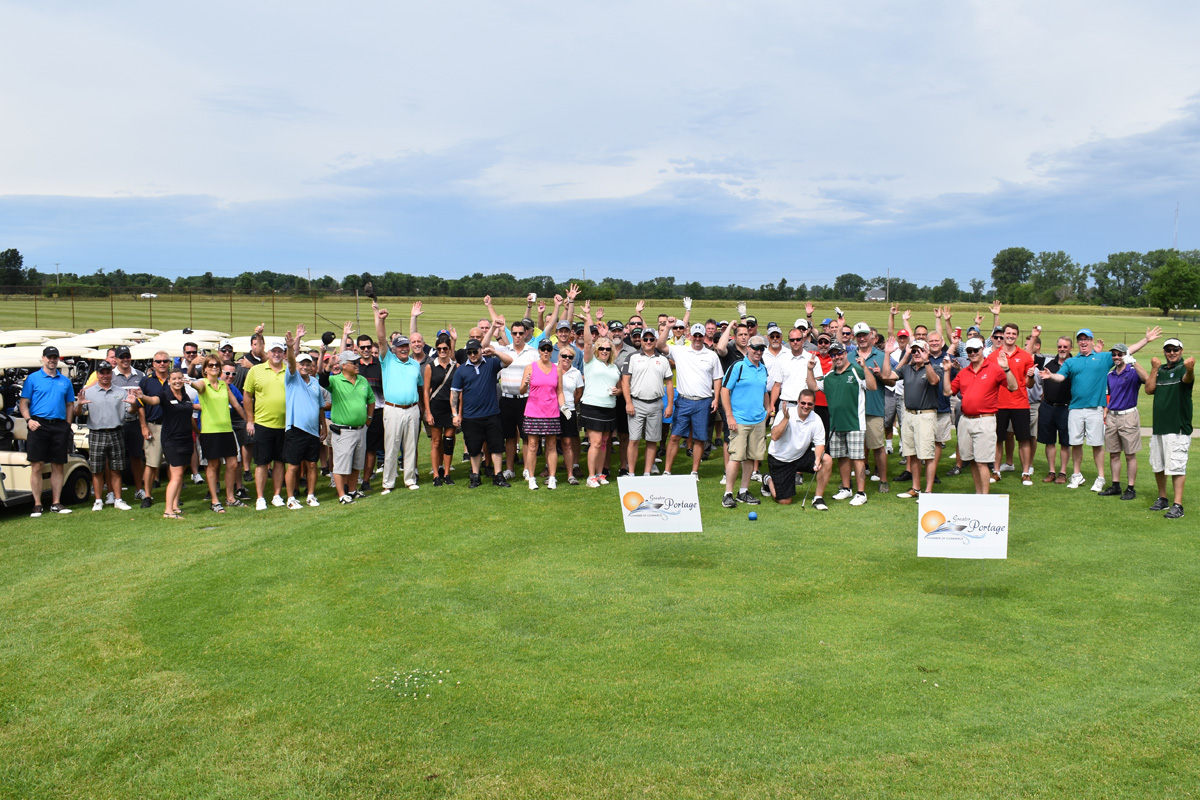 Portage Chamber of Commerce Celebrates Their Sold Out 34th Annual Spring Swing Golf Outing
