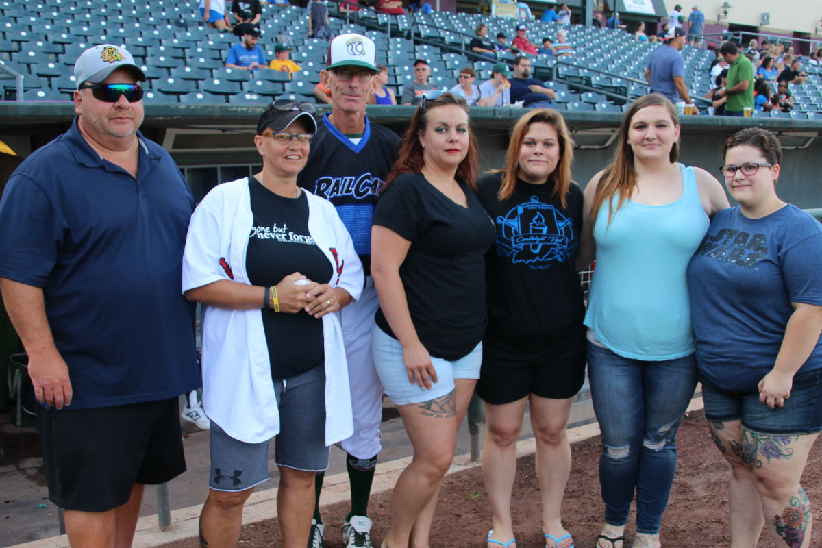 Gary RailCats Honor Northwest Indiana's Finest with Blue Line Night