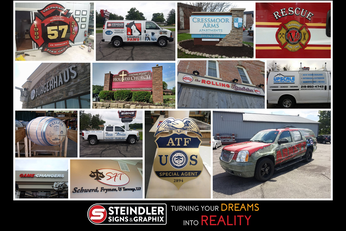 Steindler Signs Asks Need a New Car Game?
