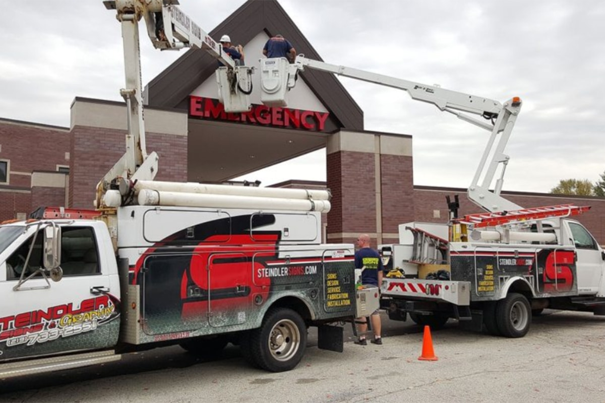 From Small to Large Scaled Facilities, Steindler Signs Offers Affordable & Exceptional Service